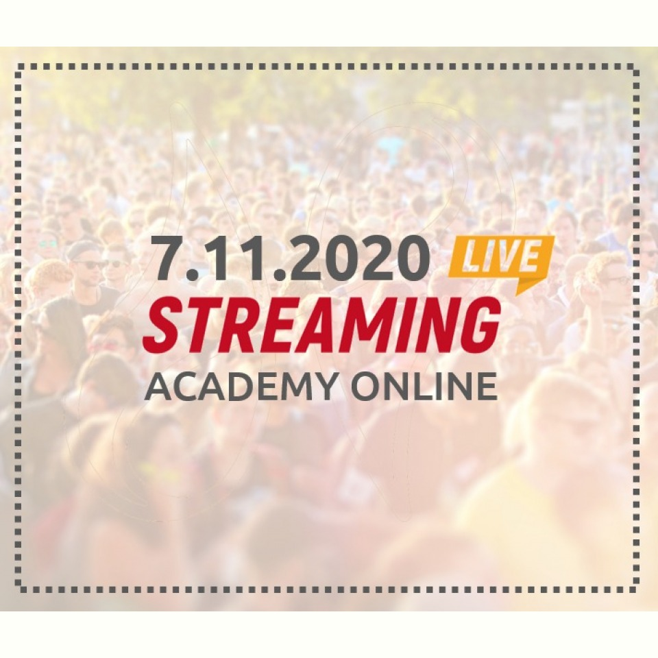 Live-stream access to the Online Academy 11/7/2020